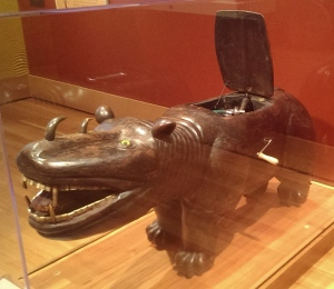 Rhinoceros Record Player, DeWitt Museum