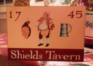 Shields Tavern Christmas Ornament