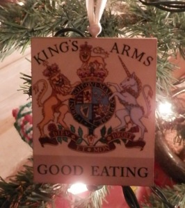 Kings Arms Tavern Christmas Ornament