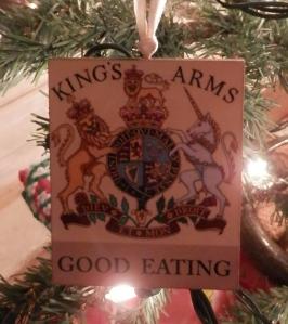 Kings Arms Tavern Christmas Ornament